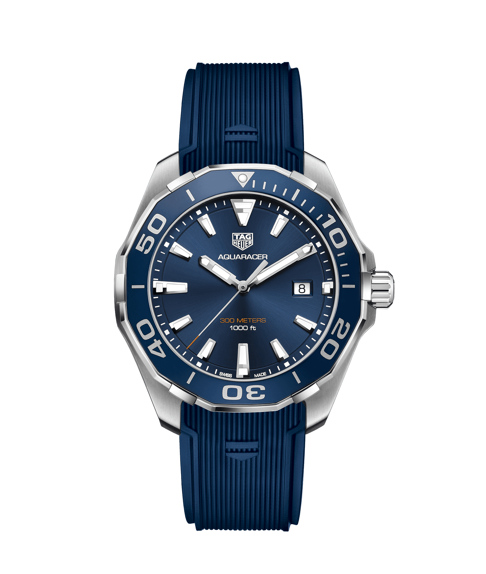 TAG HEUER AQUARACER 300m - 43 mm QUARTZ - WAY101C.FT6153