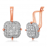 Emotions 18K Rose Gold Diamonds Earring - EMO2576