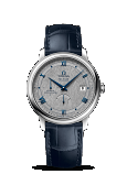 OMEGA DE VILLE PRESTIGE CO‑AXIAL POWER RESERVE Steel on leather strap 39.5 MM - 424.13.40.21.06.002
