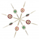 German Silver Assorted Rakhi - GSAR0001