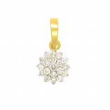 VFM 18K Yellow Gold Diamonds Pendant - VFM334