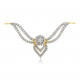 VFM 14K Yellow Gold Diamonds Pendant - VFM485