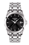 TISSOT COUTURIER LADY Black Dial 23.9mm Quartz - T035.210.11.051.01