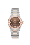 OMEGA CONSTELLATION MANHATTAN CO-AXIAL MASTER CHRONOMETER 29mm Steel - sedna gold on steel - sedna gold - 131.25.29.20.63.001