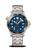 Omega Seamaster DIVER 300M CO-AXIAL MASTER CHRONOMETER 42 MM Steel - yellow gold on steel - yellow gold - 210.20.42.20.03.001
