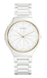 RADO TRUE THINLINE GEM CERAMIC WHITE DIAL 39mm QUARTZ - R27007702