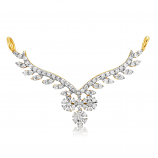 VFM 14K Yellow Gold Diamonds Pendant - VFM484