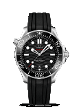 Omega Seamaster DIVER 300M CO-AXIAL MASTER CHRONOMETER 42MM Steel on rubber strap - 210.32.42.20.01.001