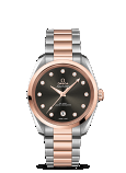 OMEGA CO-AXIAL MASTER CHRONOMETER LADIES'AQUA TERRA 150M Steel sedna gold on steel sedna gold 38MM - 220.20.38.20.56.001