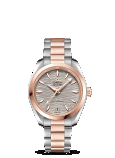 Omega Seamaster AQUA TERRA 150M CO-AXIAL MASTER CHRONOMETER 34MM Steel - sedna™ gold on steel - sedna™ gold - 220.20.34.20.06.001