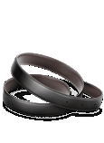 OMEGA FINE LEATHER BELTS Reversible - Black / Brown - 7010910001