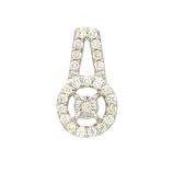 VFM 18K Yellow Gold Diamonds Pendant - VFM382