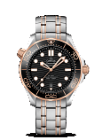 Omega Seamaster DIVER 300M CO-AXIAL MASTER CHRONOMETER 42MM Steel sedna™ gold on steel - sedna™ gold - 210.20.42.20.01.001