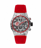 TAG HEUER CARRERA CALIBRE MANCHESTER UNITED SPECIAL EDITION HEUER 01 AUTOMATIC 100m - 43mm - CAR201M.FT6156