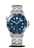Omega Seamaster DIVER 300M CO-AXIAL MASTER CHRONOMETER 42MM Steel on steel strap - 210.30.42.20.03.001