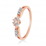 VFM 14K Rose Gold Diamonds Ring - VFM478
