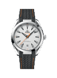 OMEGA CO-AXIAL MASTER CHRONOMETER 41 MM AQUA TERRA 150M Steel on rubber strap - 220.12.41.21.02.002