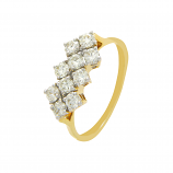 VFM 18K Yellow Gold Diamonds Ring - VFM331