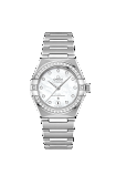 OMEGA CONSTELLATION MANHATTAN CO-AXIAL MASTER CHRONOMETER 29mm Steel on steel - 131.15.29.20.55.001
